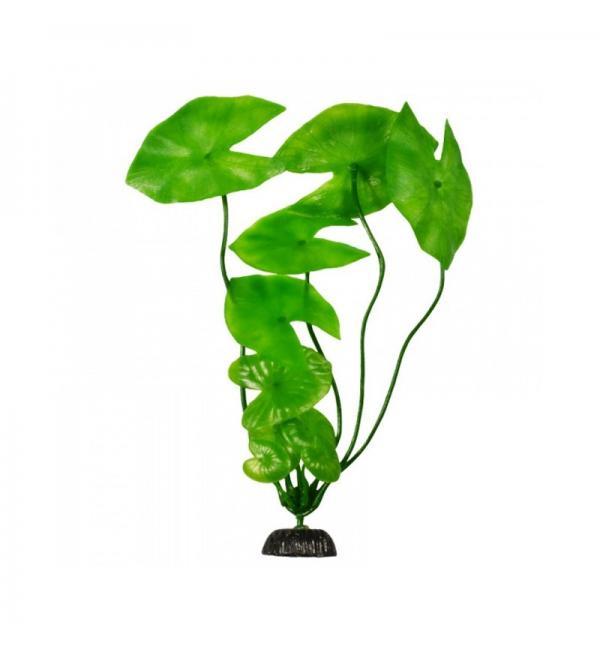 Пластиковое растение Barbus Plant 003 - Нимфея ЗЕЛЕНОЕ, 50см