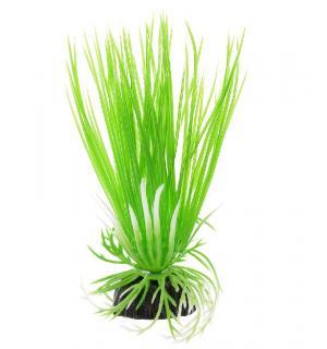 Пластиковое растение Barbus Plant 007 - Акорус ЗЕЛЕНЫЙ, 10см