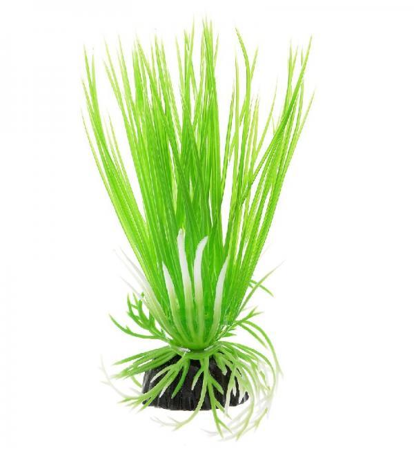 Пластиковое растение Barbus Plant 007 - Акорус ЗЕЛЕНЫЙ, 20см