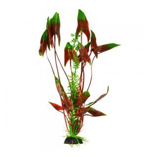 Пластиковое растение Barbus Plant 008 - Водная Кала ЗЕЛЕНОЕ с коричневым, 20см