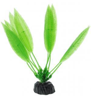 Пластиковое растение Barbus Plant 009 - Эхинодорус амазонский ЗЕЛЕНЫЙ, 10см