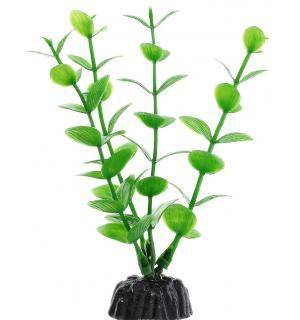 Пластиковое растение Barbus Plant 010 - Бакопа ЗЕЛЕНАЯ, 10см