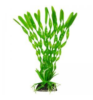 Пластиковое растение Barbus Plant 014 - Валиснерия спиральная ЗЕЛЕНАЯ, 10см