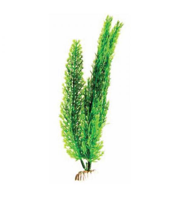 Пластиковое растение Barbus Plant 015 - Роголистник ЗЕЛЕНЫЙ, 30см