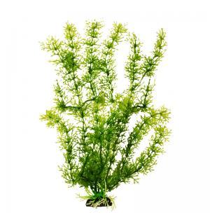 Пластиковое растение Barbus Plant 024 - Яванский мох ЗЕЛЕНЫЙ, 10см