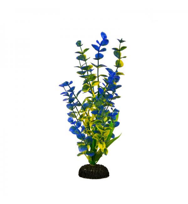 Пластиковое растение Barbus Plant 026 - Бакопа СИНЯЯ, 50см