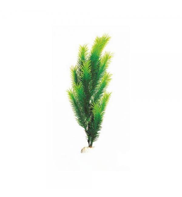 Пластиковое растение Barbus Plant 028 - Перестолистник ЗЕЛЕНЫЙ, 30см