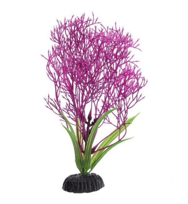 Пластиковое растение Barbus Plant 031 - Горгонария СИРЕНЕВАЯ, 20см