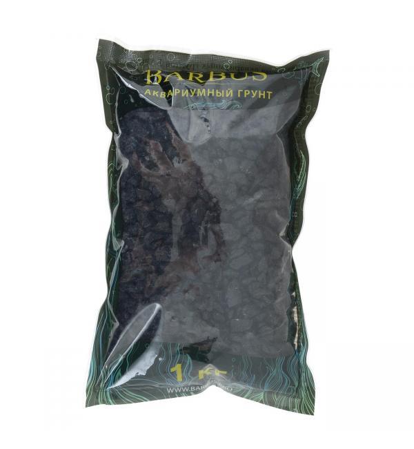 Цветная каменная крошка Barbus ЧЕРНАЯ 5-10мм (1 кг)