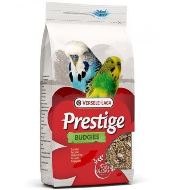 Корм Versele-Laga BUDGIES PRESTIGE для волнистых попугаев (22 кг)