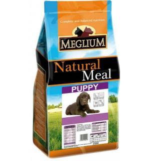 Сухой корм MEGLIUM Puppy для щенков всех пород от отъема матери до 1 года (20 кг)
