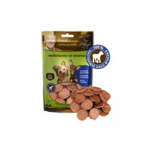 Лакомства Деревенские лакомства Медальоны из ягненка для мини-пород (0,055 кг)