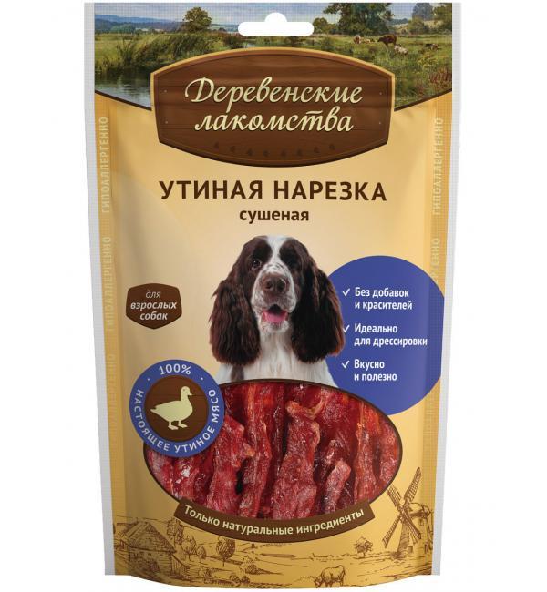 Лакомства Деревенские лакомства Утиная нарезка сушеная (0,09 кг)