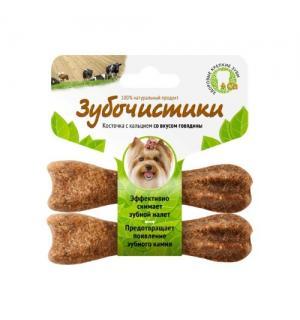 Зубочистики Деревенские лакомства для собак мелких пород со вкусом говядины, 2 шт