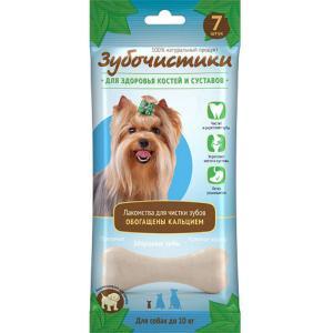 Зубочистики Деревенские лакомства Кальциевые для собак мелких пород, 12 шт (0,420 кг)