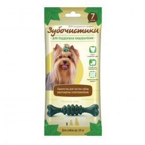 Зубочистики Деревенские лакомства Мятные для собак мелких пород, 12 шт (0,420 кг)