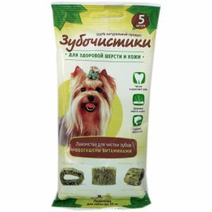 Зубочистики Деревенские лакомства Авокадо для собак мелких пород, 12 шт (0,175 кг)