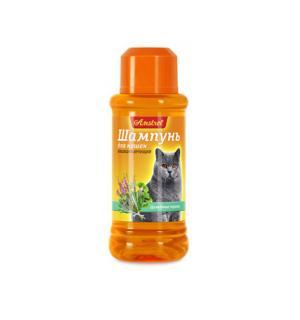 Шампунь Amstrel для кошек кондиционирующий с целебными травами