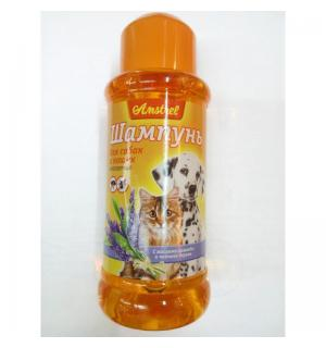 Шампунь Amstrel репеллентный для собак и кошек с маслом лаванды и чайного дерева 320мл