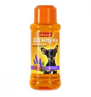 Шампунь Amstrel для щенков кондиционирующий с медом и шалфеем
