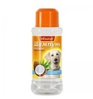 Шампунь Amstrel для собак восстанавливающий с кокосовым маслом и пантенолом