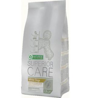Сухой корм Natures Protection Superior Care для собак мелких пород с белой шерстью (1,5 кг)