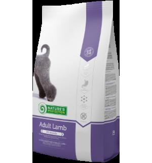 Сухой корм Natures Protection для собак всех пород, с мясом ягненка (12 кг)