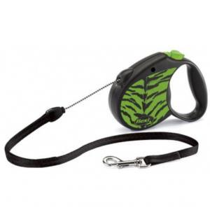 Рулетка Flexi Flexi Safari M трос зеленая до 20 кг