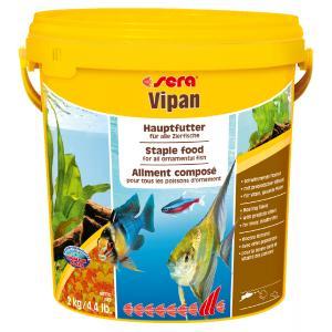 """Корм хлопья крупные SERA  для всех рыб """"Vipan"""" 2кг"""