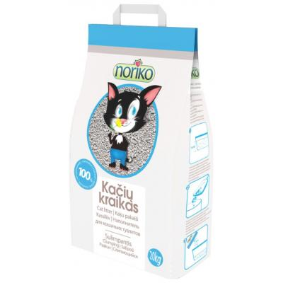 Наполнитель NORIKO комкующийся для кошачьего туалета (с бентонитом) (20 кг)