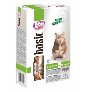 Полнорационный корм Lolo Pets для хомяка (0,5 кг)