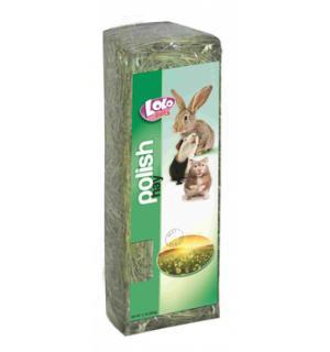 Сено луговое Lolo Pets (идет как корм) (0,3 кг)