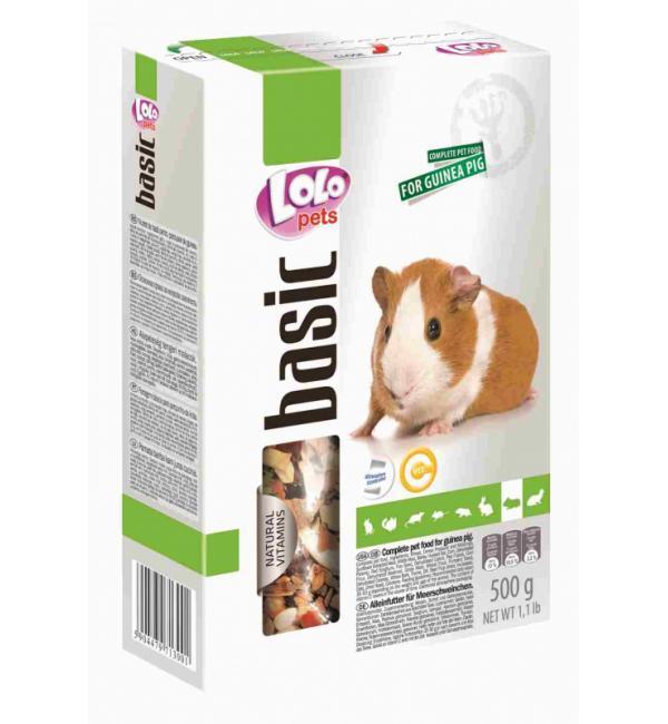 Полнорационный корм для морской свинки Lolo Pets для морской свинки (1 кг)