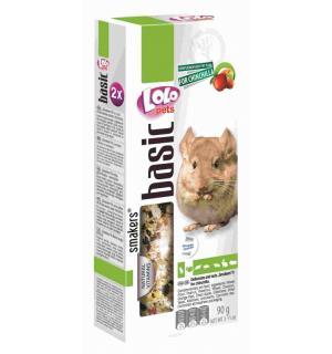 Smakers® Lolo Pets для шиншилл, с фруктами и орехами (0,09 кг)