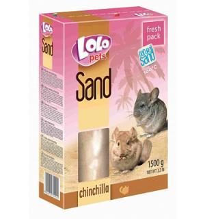 Песок Lolo Pets для шиншил (1,5 кг)