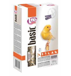 Полнорационный корм Lolo Pets для канареек (0,5 кг)