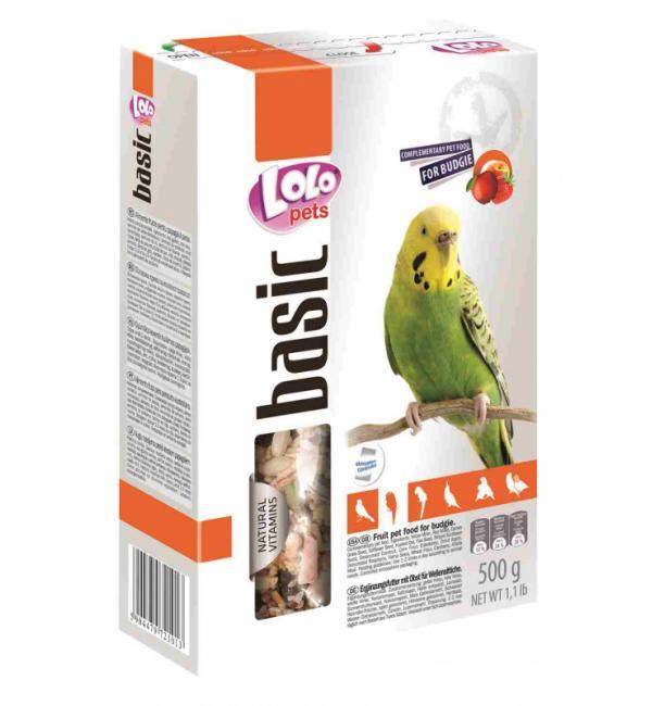Корм фруктовый Lolo Pets для волнистых попугаев (0,5 кг)