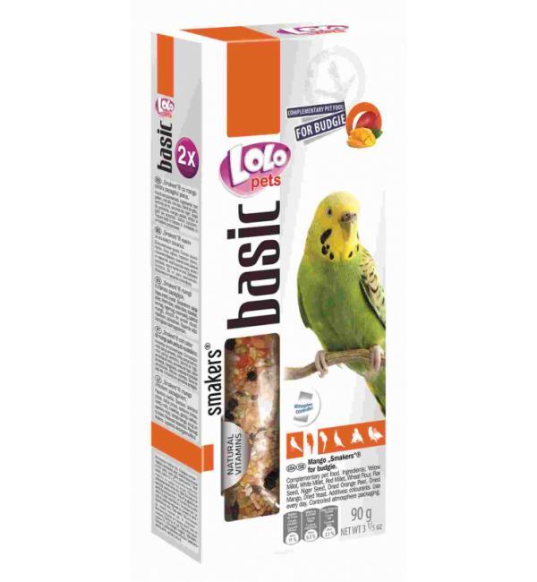 Smakers® Lolo Pets для волнистых попугаев, с манго (0,09 кг)