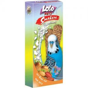 Smakers® Lolo Pets для волнистых попугаев, с орехами (0,09 кг)