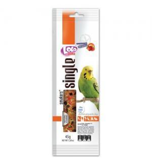 Smakers® Lolo Pets для волнистых попугаев, фруктовый Weekend Style (0,045 кг)