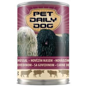 Консервированный корм Pet Daily Dog для собак, с говядиной (1,24 кг)