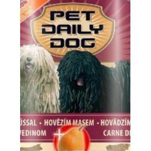 Консервированный корм Pet Daily Dog для собак, с говядиной и грушей (1,24 кг)