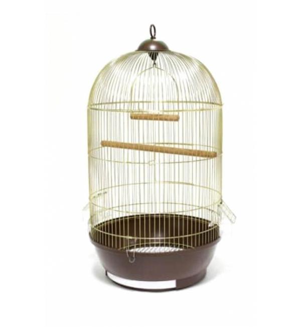 Клетка для птиц Happy Animals ф 33х53 см A309