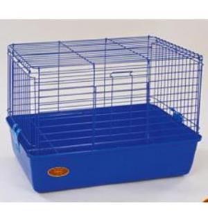 Клетка Happy Animals для кроликов, морских свинок (эмаль)