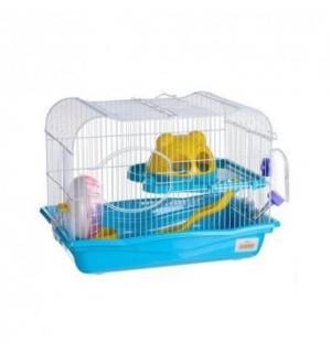 Клетка Happy Animals для хомяков и др. мелких грызунов + лабиринт + подарочная коробка