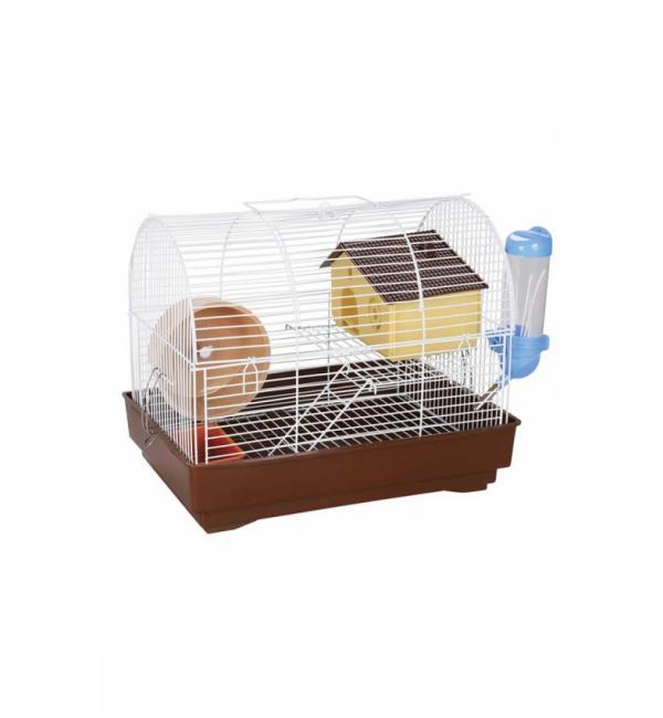 Клетка для грызунов Panama Pet бело-коричневая