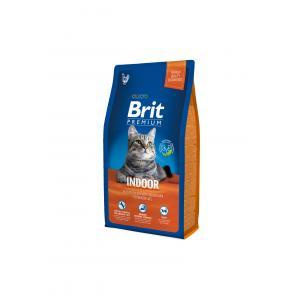 Сухой корм Brit Premium для кошек домашнего содержания, курица и печень (1,5 кг)