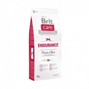 Сухой корм Brit Care для активных собак всех пород, утка с рисом (12 кг)