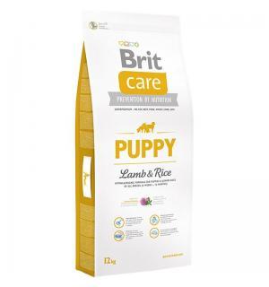Сухой корм Brit Care для щенков всех пород, ягненок с рисом (12 кг)