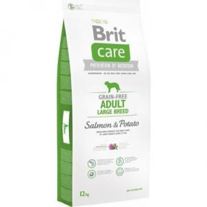 Сухой корм Brit Care для взрослых собак крупных пород (12 кг)